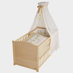 Babybett mit Ausstattung 70x140 cm von ROBA