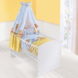 4-tlg. Babybettausstattung von ZÖLLNER DISNEY WINNIE PUUH