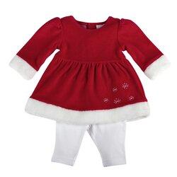 Set Kleid langarm + Leggings von BORNINO BASICS