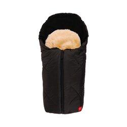 Universal Winter-Fußsack mit Lammfelleinlage Little Sheepy für Babyschale, Autositz, Tragewanne von KAISER