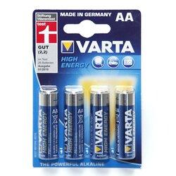Alkaline-Batterien 1,5V Mignon 4 Stück von VARTA
