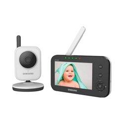 Babyphone mit Kamera und Nachtsicht-Funktion SEW-3040W, 245 m von SAMSUNG TECHWIN