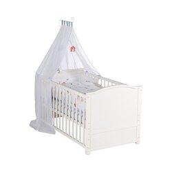 Komplett-Kinderbett VOGELGLÜCK 70 x 140 cm von LITTLE WORLD