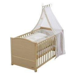 Babybett mit Ausstattung Liebhabär 70x140 cm von ROBA