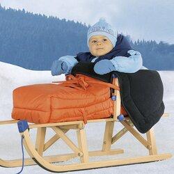 Winter-Fußsack für Schlitten von KAISER