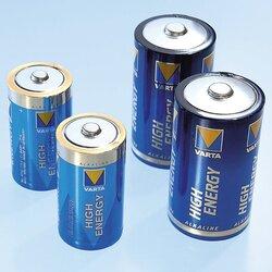 Alkaline-Batterien 1,5V Mono 2 Stück von VARTA